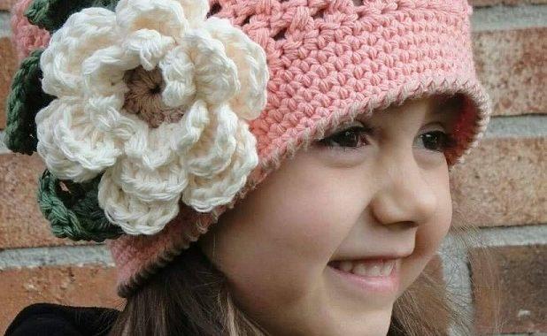gorro nina crochet