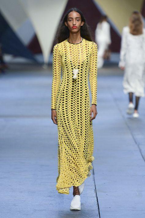 El crochet protagonista en las pasarelas Vogue