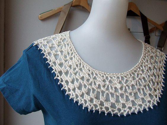 tuneando ropa con crochet