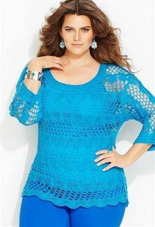 Moda XXL en crochet ¡qué guapas!